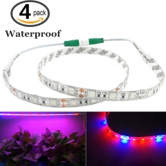 Waterproof LED Grow Strip Light 5050SMD Flexible LED Plant Growing Light Lamp for Aquarium Greenhouse Hydroponic Plant Growing